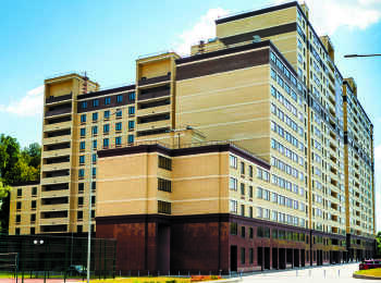 Разноэтажные секции ЖК Битцевские холмы